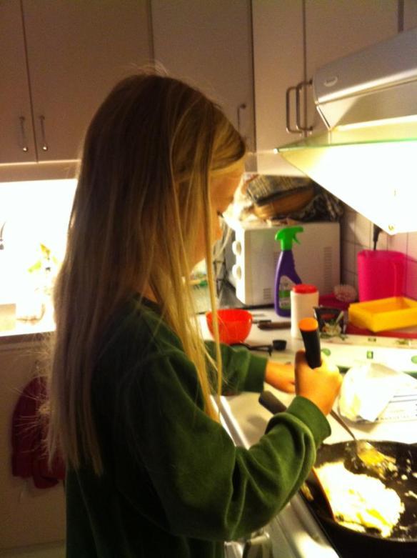 sigrid lagar omelett